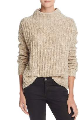 PAM & GELA Funnel-Neck Sweater $245 thestylecure.com