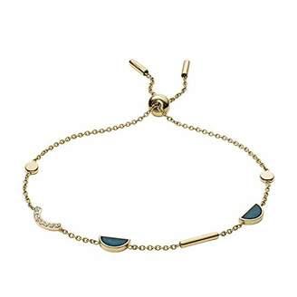 Fossil Women's Jade Gold-Tone Bracelet