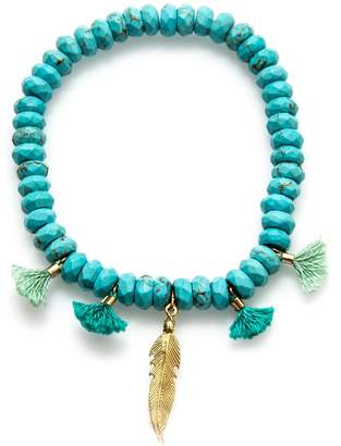 Electric Picks Ring Master Turquoise Bracelet