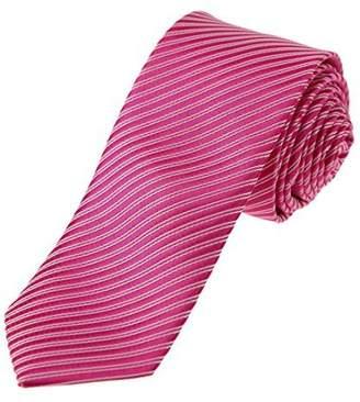 DAE1073 Sea Green Striped Skinny Tie Fourth-Of-July Presents Dan Smith