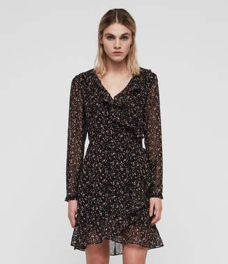 AllSaints Kiyah Pepper Dress