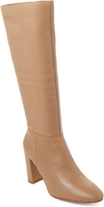 Marc Fisher Camel Zimra Tall Leather Boots