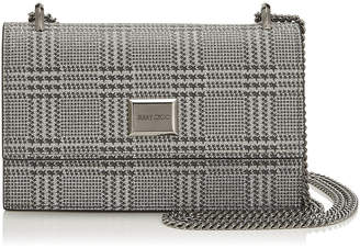 Jimmy Choo LENI Silver Prince of Stars Glitter Mini Bag