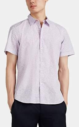 Paul Smith Men's Graphic Cotton Shirt - Lilac