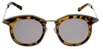 Karen Walker Bounty Mirrored Sunglasses
