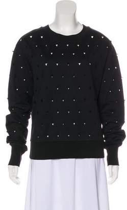 Public School Cutout Long Sleeve Sweatshirt