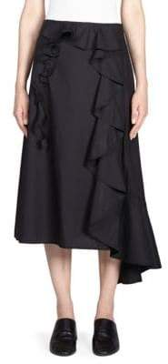 Acne Studios Cotton Ruffle Skirt