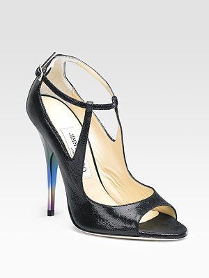 Jimmy Choo Eliza Suede Sandals