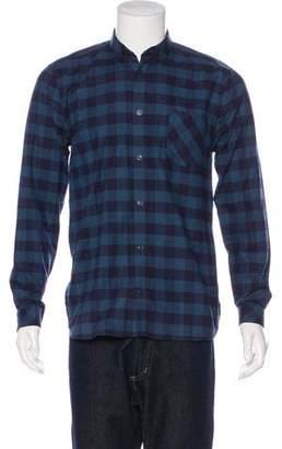 Won Hundred Norton Gingham Flannel Shirt