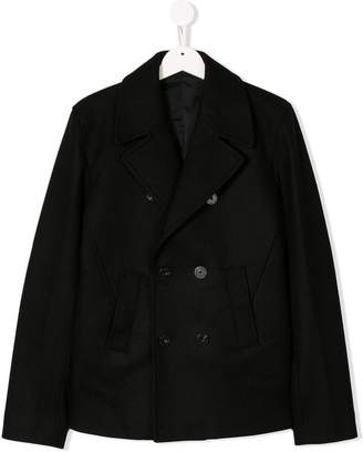 Neil Barrett Kids classic peacoat