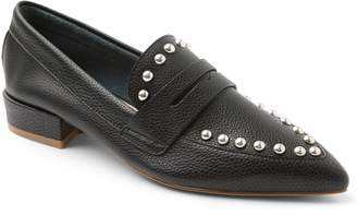 Kensie Pointed-Toe Studded Flats - Iori