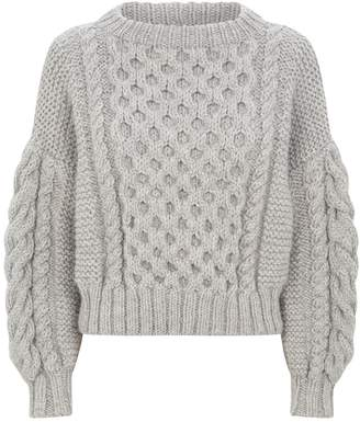 I Love Mr Mittens Wool Knitted Sweater