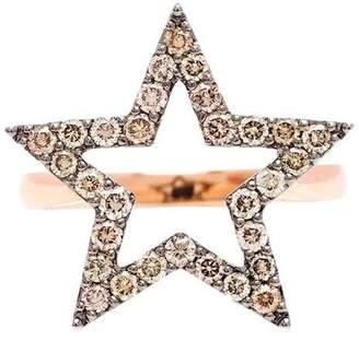 Rosa De La Cruz diamond star ring