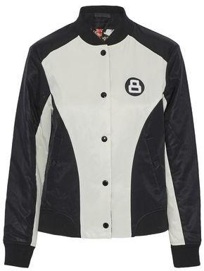 Rag & Bone Reversible Appliquéd Twill Bomber Jacket
