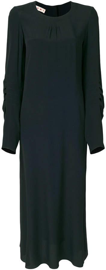 Marni long sleeved shift dress