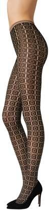Fogal Women's Kala Floral Pantyhose