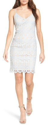 Women's Leith Lace Body-Con Slipdress $75 thestylecure.com