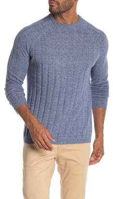 Autumn Cashmere Ribbed Crew Raglan Sweater