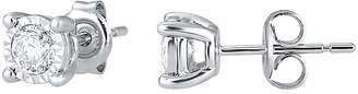 TRUMIRACLE CT. T.W. TruMiracle Genuine Diamond Stud Earrings