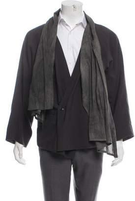 Damir Doma Draped Asymmetrical Cardigan