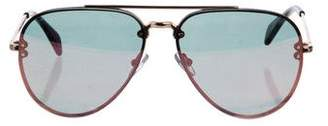 Celine Aviator Tinted Sunglasses