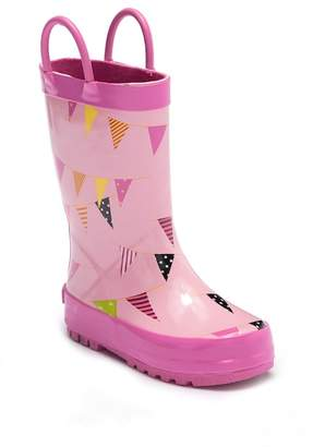 Laura Ashley Celebrate All-over Waterproof Rainboot (Toddler & Little Kid)