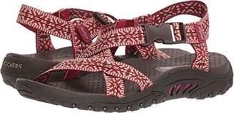 Skechers Women's Reggae-Ribbons-Open Toe Slingback Sandal