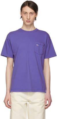 Noah NYC Purple Pocket T-Shirt