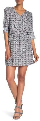 Daniel Rainn DR2 by Long Sleeve Pintucked Dress
