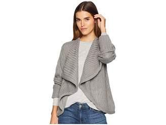 BB Dakota Just Got Back Drape Front Sweater