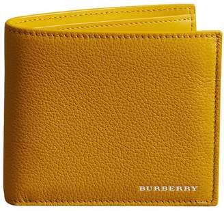 Burberry Grainy Leather International Bifold Wallet