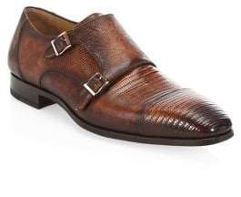 Saks Fifth Avenue COLLECTION BY MAGNANNI Leather Cap Toe Shoes