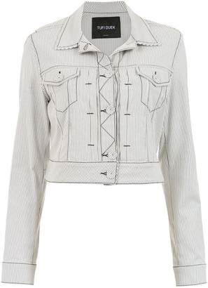 Tufi Duek striped denim jacket