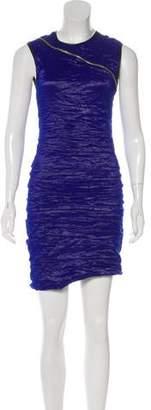 Yigal Azrouel Sleeveless Ruched Dress