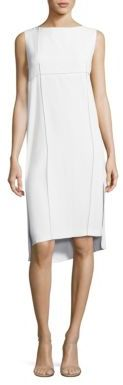 DKNY Sleeveless Shift Dress $298 thestylecure.com