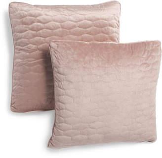 20x20 2pk Quilted Velvet Pillows