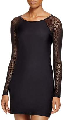 DKNY Scuba Dress Swim Cover-Up