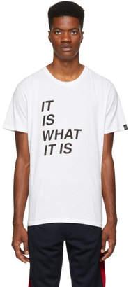 Rag & Bone White It Is What It Is T-Shirt