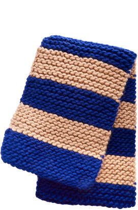 I Love Mr. Mittens Exclusive Billie Striped Cable-Knit Scarf