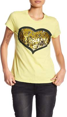 Romeo & Juliet Couture Sparkle Heart Tee