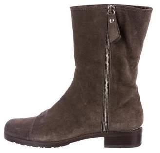 Stuart Weitzman Mid-Calf Suede Boots