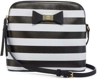 LIZ CLAIBORNE Liz Claiborne Monica Crossbody Bag $40 thestylecure.com
