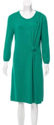 Oscar de la Renta Merino Wool Dress