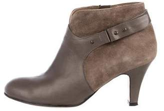 Anyi Lu Leather Ankle Boots