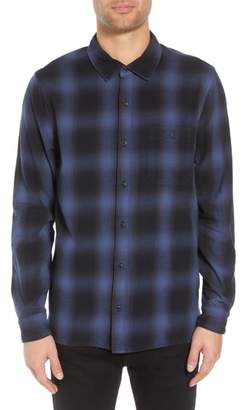 Hudson Regular Fit Plaid Flannel Shirt