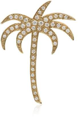 Ileana Makri diamond palm pendant necklace
