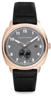 Larsson & Jennings Meridian Leather Strap Watch