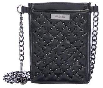 Michael Kors Quilted Leather Phone Bag
