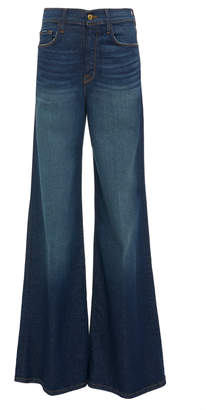 Frame Le Palazzo High-Rise Flared Jeans
