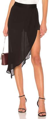 Haute Hippie Tux Slayer Skirt